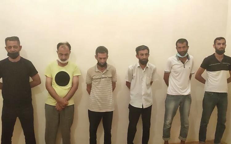 """Lənkəranda """"patı"""" əməliyyatı: 7 nəfər saxlanıldı"""