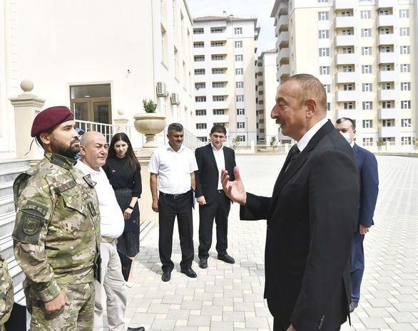 Prezidentlə görüş zamanı təsirli çıxışı ilə yadda qalan  qaziyə vəzifə verildi