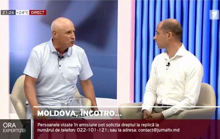 Moldovaa siyasətçilər canlı yayımda dalaşdı - döyülən huşunu itirdi - VİDEO