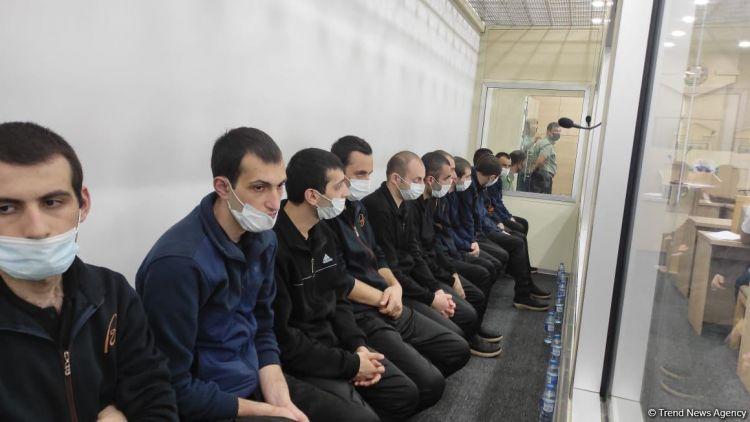 13 nəfərlik erməni silahlı dəstənin üzvlərinə hökm oxundu  - YENİLƏNİB