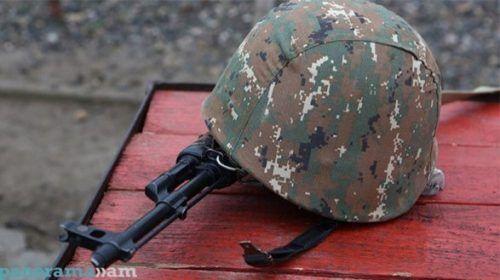 Ermənistanda zabit ölüb