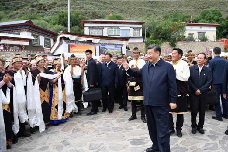 """Çin liderinin Tibetə """"gizli"""" səfəri -  30 ildən sonra bir ilk..."""