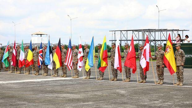 Azərbaycan hərbçiləri Gürcüstanda NATO ilə birgə təlimlərə başladı
