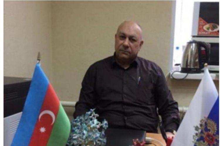 Azərbaycanlı diaspor rəhbəri koronavirusdan vəfat edib
