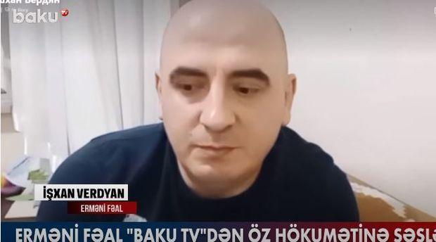 """İşxan Verdyan: """"Regionda Azərbaycan və Türkiyəsiz qalmaq mümkün deyil"""" –  VİDEO"""