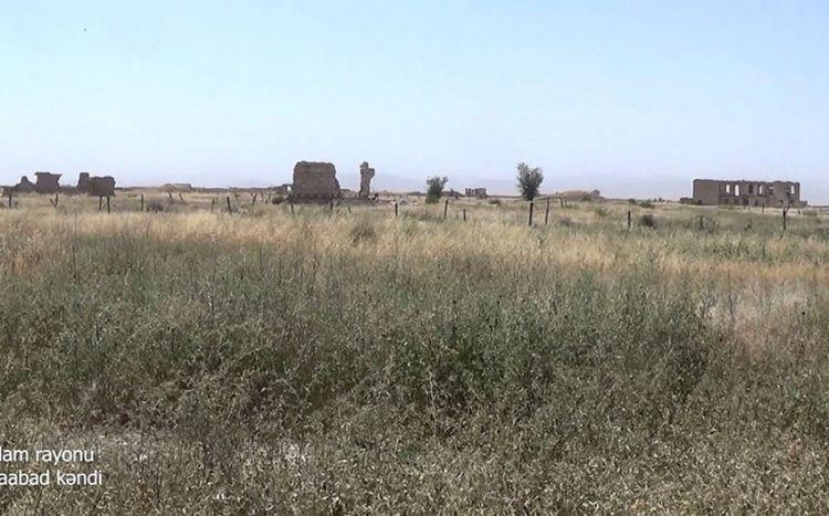 Ağdamın Şuraabad kəndindən görüntülər