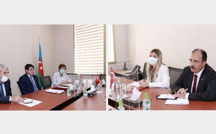 Fuad Muradov Cahid Bağcı ilə görüşüb