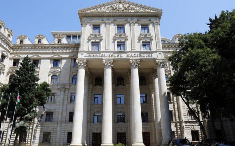 Azərbaycan XİN: Ermənistan Azərbaycana qarşı hələ də ərazi iddiaları ilə çıxış edir