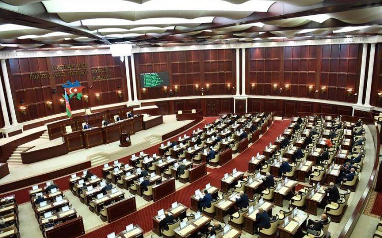 Plenar iclasının gündəliyi açıqlandı:  Eldəniz Səlimov...