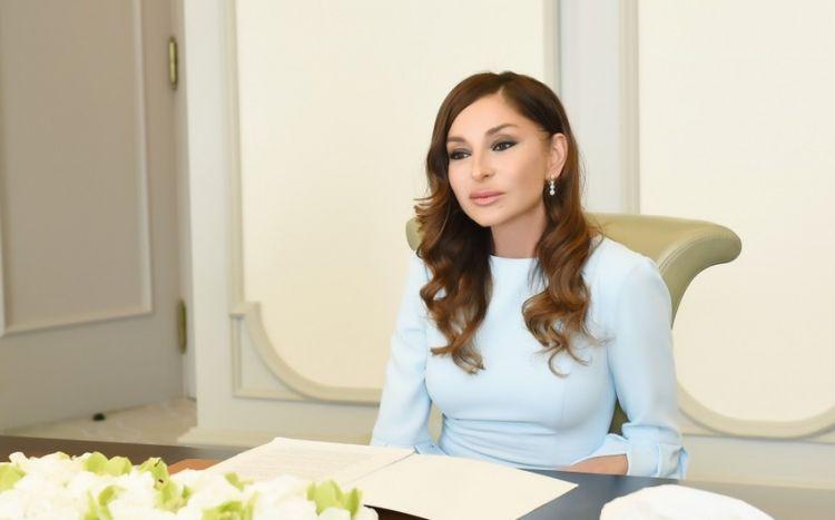 """""""Peşəkar insan ehtiyatı hər bir ölkənin sərvəti hesab olunur"""" -  Mehriban Əliyeva"""