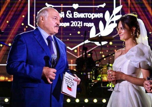 Lukaşenkonun nəvəsinin toyu oldu –  FOTO