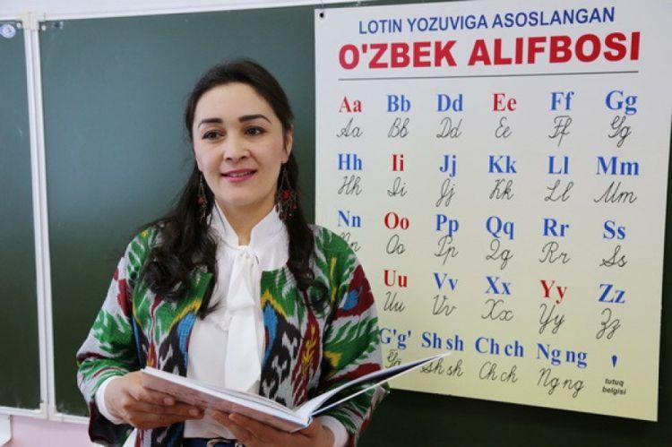 Özbəkistan latın əlifbasına keçdi