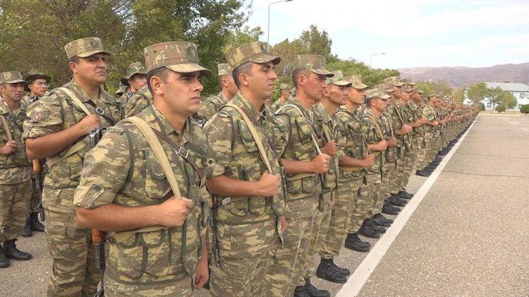 Naxçıvan Qarnizonu Qoşunlarında yeni tədris dövrü başlayıb -  VİDEO