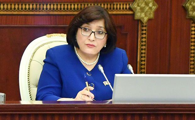 """Sahibə Qafarova: """"Deputatın da, Milli Məclisin də yiyəsi Azərbaycan xalqıdır"""""""