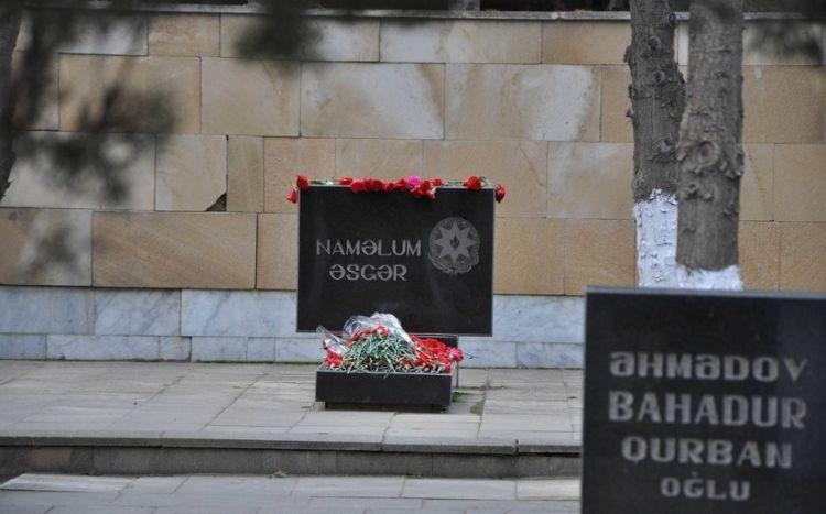 Bakıda 32 naməlum şəhidin məzarı açıldı -  RƏSMİ