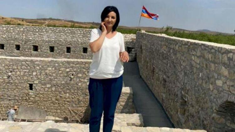 """Adam dəli olur, hər tərəfdə Azərbaycan bayrağı... -  Erməni """"deputat"""""""