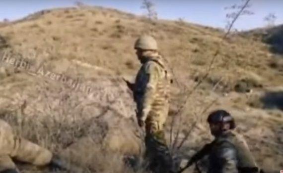 Mais Bərxudarovun döyüş zamanı çəkilmiş görüntüləri yayıldı -  VİDEO