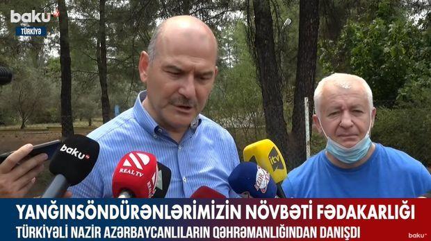Türkiyəli nazir Azərbaycana təşəkkür etdi -  VİDEO