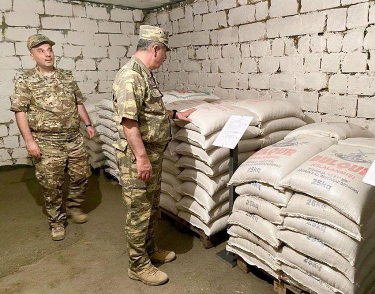 Zakir Həsənov azad edilmiş ərazilərdə yeni anbarların qışa hazırlığını yoxladı -  VİDEO