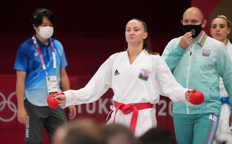 Azərbaycan karateçisi üçüncü döyüşdə uduzdu
