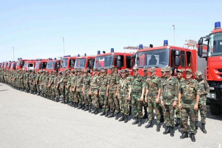 FHN-nin yanğın-xilasetmə qüvvələrinin növbəti qrupu Türkiyənin Muğla vilayətindədir