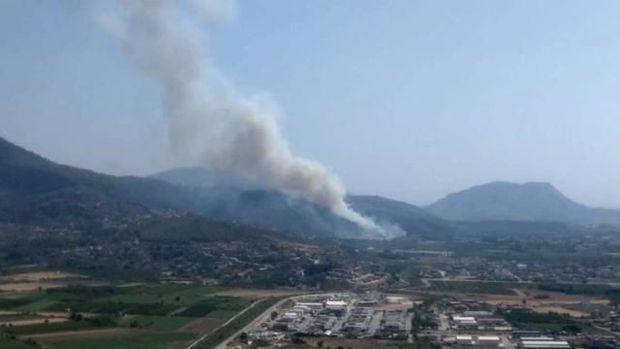 Türkiyədə hava limanı yaxınlığında yanğın meydana gəlib -  YENİLƏNİB