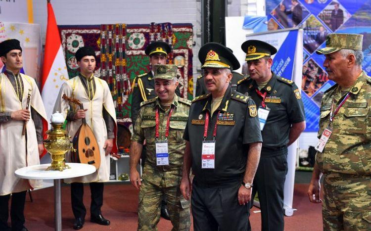 """Nizam Osmanov """"Beynəlxalq Ordu Oyunları - 2021"""" yarışlarının açılışında -  FOTO/VİDEO"""