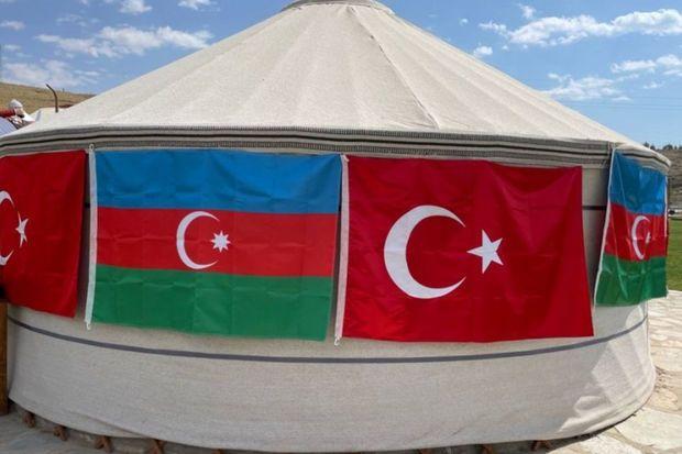 Türkiyədə Azərbaycan mədəniyyət çadırının açılışı olub -  FOTO