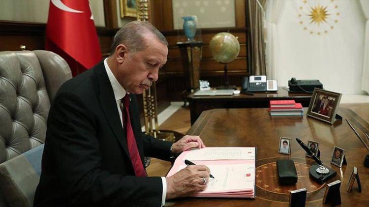 Ərdoğan Azərbaycanla əməkdaşlıq üzrə daha bir sənədi təsdiqlədi