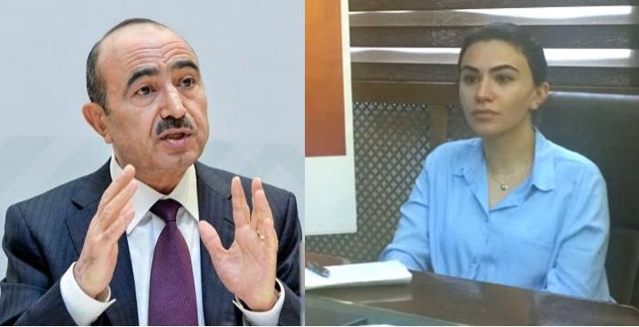 Əli Həsənovun qızı işdən çıxarıldı-  FOTO