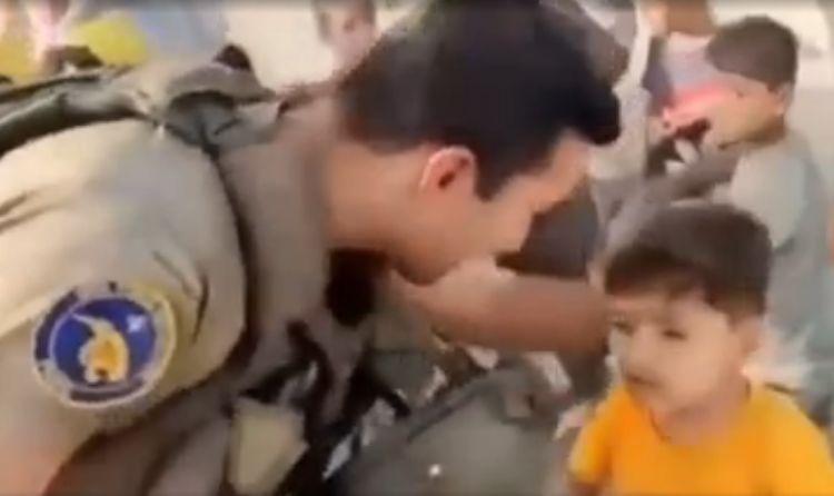 Sülhməramlılarımız Kabildə əhaliyə su payladı - VİDEO