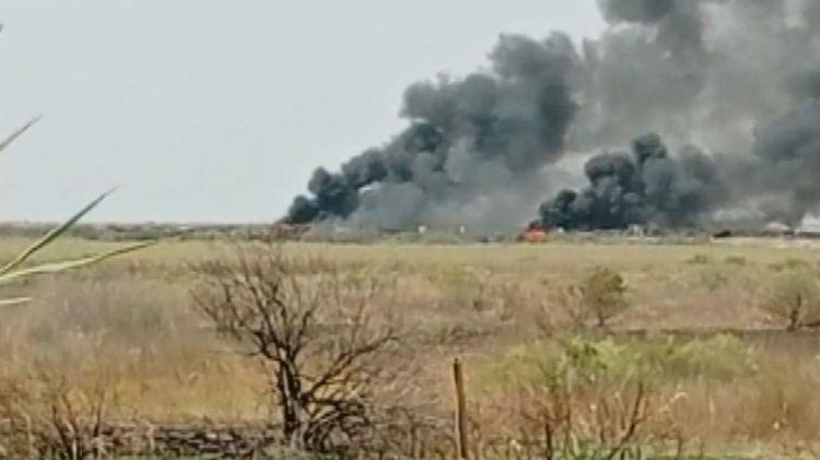 Ermənistan silahlı qüvvələri Sədərək istiqamətində yanğınlar törədib - FOTO