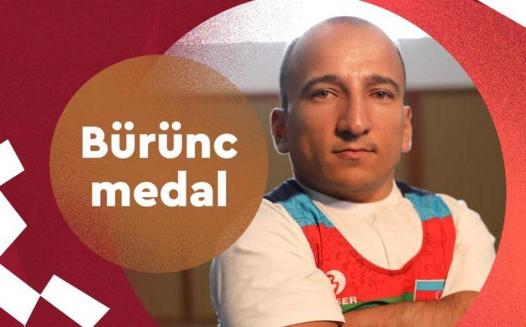Azərbaycan Tokio-2020 Yay Paralimpiya Oyunlarında ilk medalını qazandı - FOTO