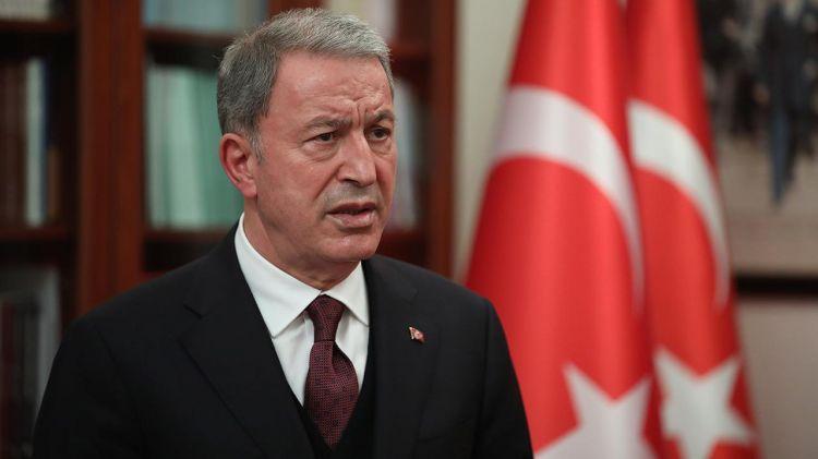 """Hulusi Akar türk əsgərlərin təxliyəsi barədə: """"önəmli bir problem olmadan..."""""""