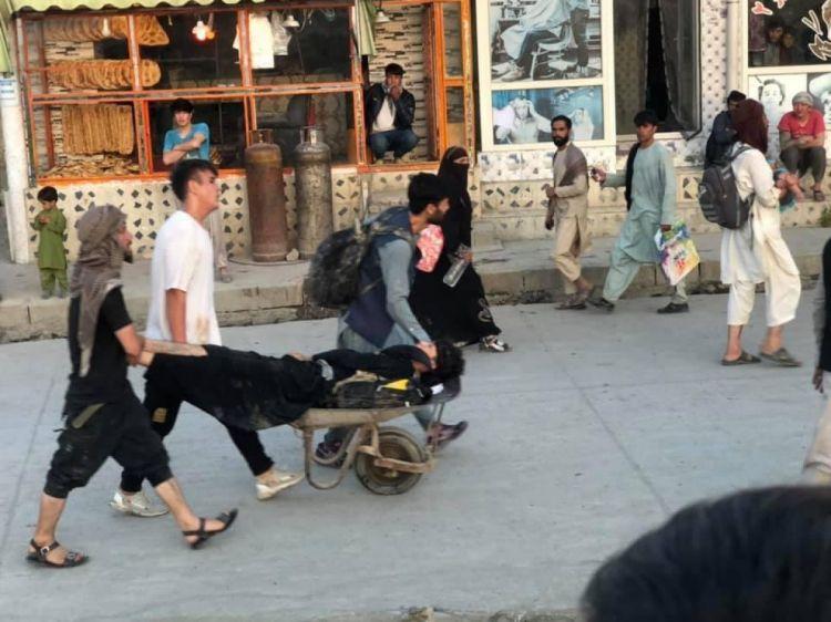 Kabildəki terror aktında ölən və yaralananların sayı artıb -  VİDEO - FOTO