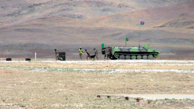 Azərbaycan artilleriyaçıları Qazaxıstanda 3-cü yeri tutub - VİDEO