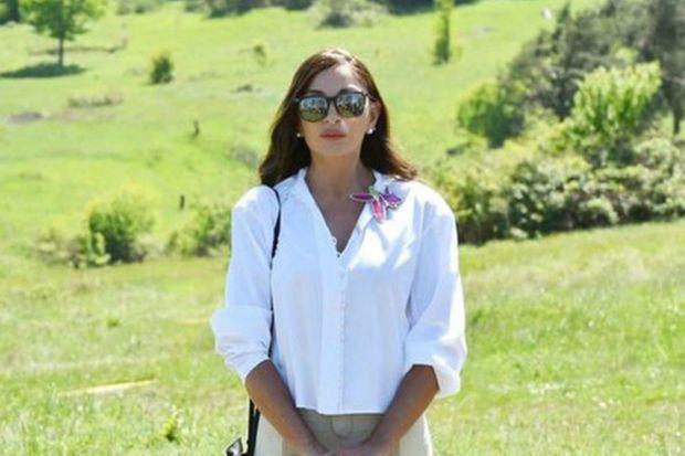 Mehriban Əliyeva Şuşaya səfərlə bağlı paylaşım edib -  VİDEO