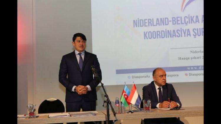 Niderland–Belçika Azərbaycanlıları Koordinasiya Şurasının üzvləri ilə görüş olub
