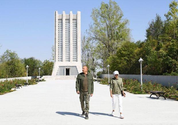 Şuşada Molla Pənah Vaqifin muzey-məqbərə kompleksinin bərpadan sonra açılışı olub -  YENİLƏNİB - FOTO