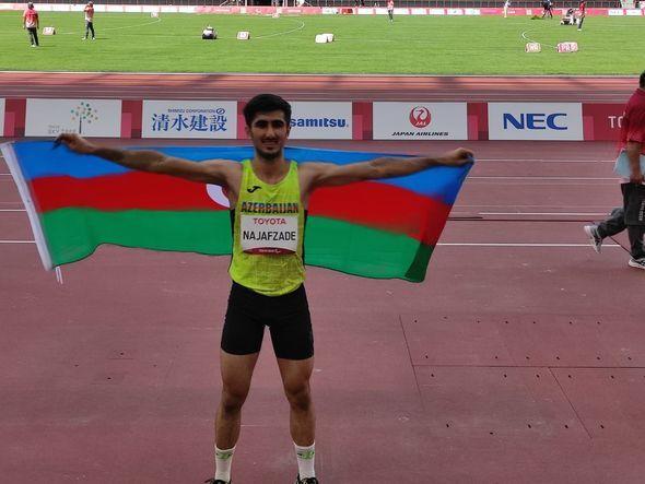 Paralimpiya Oyunları: İdmançımız uzunluğa tullanmada Azərbaycana növbəti medalı qazandırdı -  FOTO