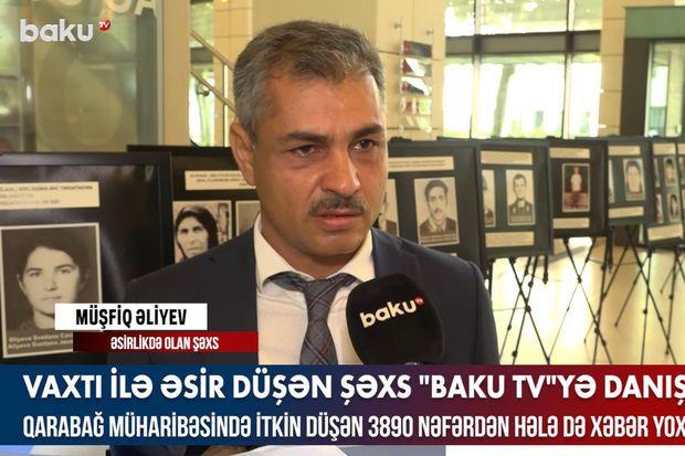 Qarabağ müharibəsində bacısı ilə əsir düşən şəxs danışdı -  VİDEO