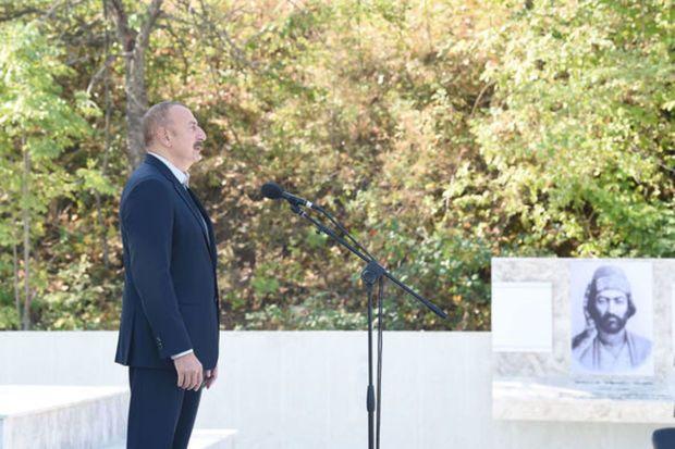 Prezident işğaldan azad edildikdən sonra Şuşaya ilk səfərindən danışdı –  VİDEO
