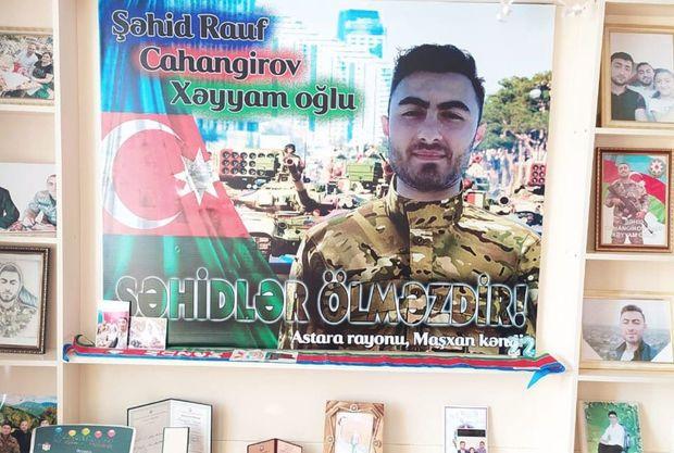 Bu gün şəhid Rauf Cahangirovun doğum günüdür -  FOTO