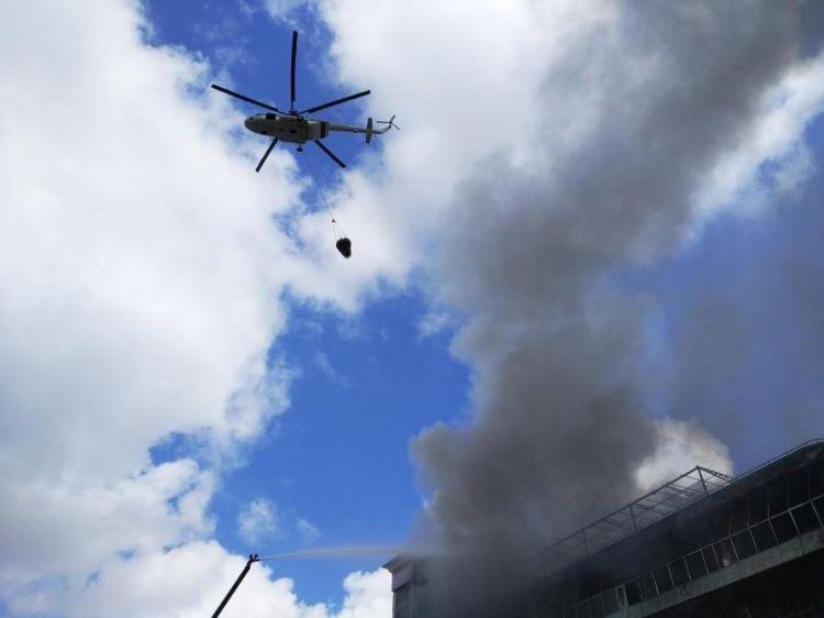 Taliban satqını helikopterdən asıb nümayiş etdirdi -  VİDEO