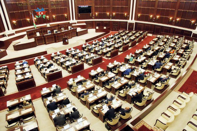 Milli Məclisin payız sessiyasının ilk plenar iclası bu tarixdədi