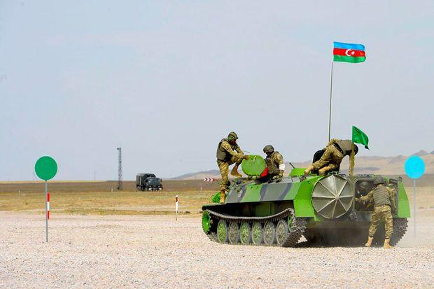 """Artilleriyaçılarımız """"Artilleriya atəşinin ustaları"""" müsabiqəsini uğurla başa vurub –  FOTO - VİDEO"""
