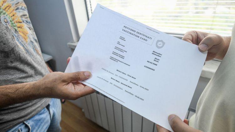 Əks-göstəriş sertfikatı necə alınır? –  Qaydalar açıqlandı