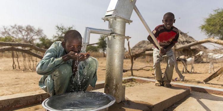 Afrikada şəhidlərimiz adına su quyuları qazılır -  VİDEO