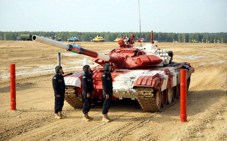 Azərbaycan tankçıları müsabiqədə finala yüksəlib