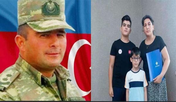 Şəhid polkovnik-leytenant Mehman Qənbərovun ailəsinə mənzil verildi